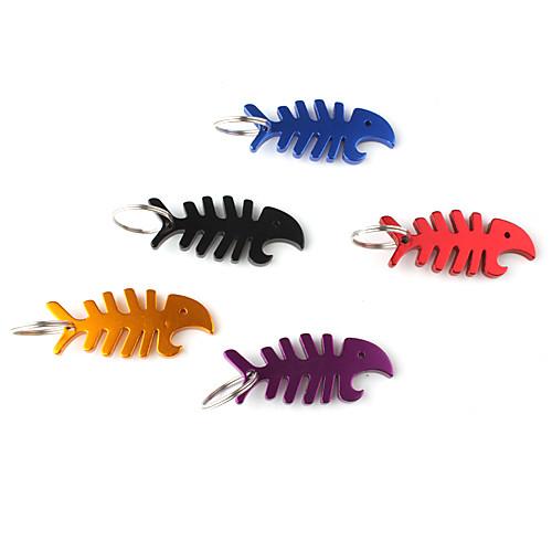 рыбья кость формы открывалка для бутылок брелок (случайный цвет) Lightinthebox 42.000
