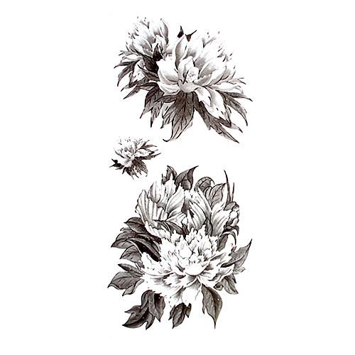 5 шт пион водонепроницаемый временную татуировку (18.5cm  9см) Lightinthebox 214.000