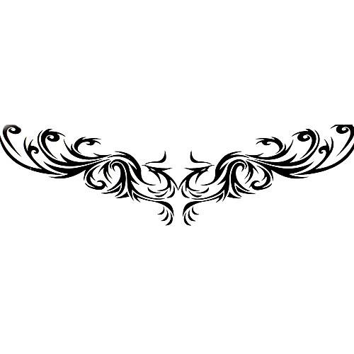 5 шт водонепроницаемый временную татуировку (14м  4 см) Lightinthebox 214.000