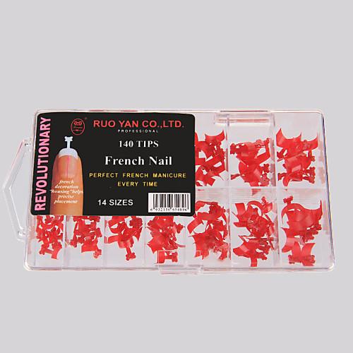 Профессиональные акриловые типсы для французского маникюра и нейл арта, 140 шт. Lightinthebox 214.000
