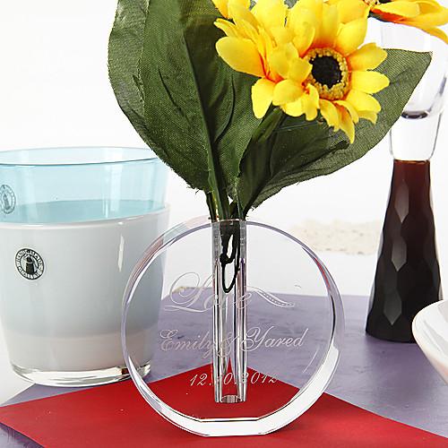 персонализированных круглый хрустальную вазу Lightinthebox 343.000