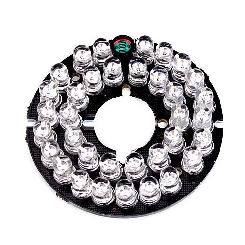 инфракрасный 35-Светодиод платы пластина для камеры видеонаблюдения 3.6мм безопасности линзы Lightinthebox 257.000