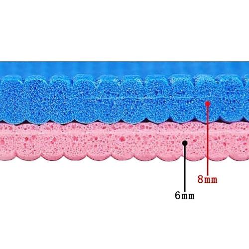 Экологичный плотный коврик для йоги и пилатеса из термоэластопласта, 6 мм Lightinthebox 858.000