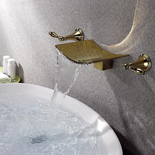 ти-PVD закончить стену Широкое кран раковины ванной Lightinthebox 7304.000