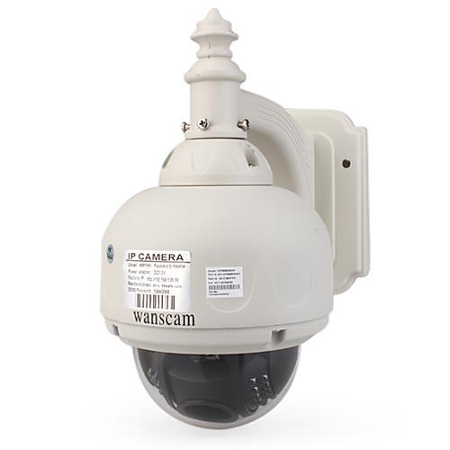 WANSCAM - PTZ беспроводной водонепроницаемый Открытый IP-камера с 3-кратным оптическим зумом и ИК- Lightinthebox 4296.000