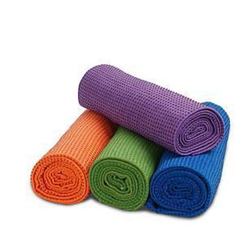 Высококачественное полотенце-коврик для йоги, нескользящая поверхность