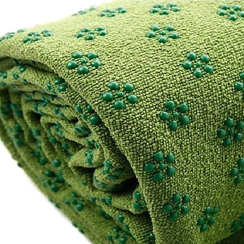 Полотенце-коврик для йоги, нескользящая поверхность