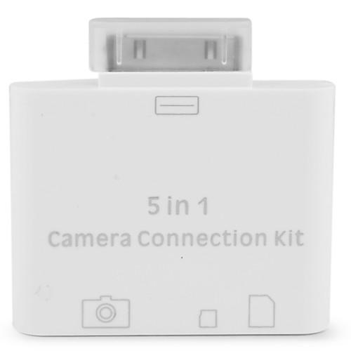 USB набор для подключения камеры, кард ридер SD/TF/M2 для iPad, iPad 2 и The new iPad Lightinthebox 251.000