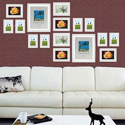 белая фотография стены кадр коллекции - набор из 16 Lightinthebox 3866.000