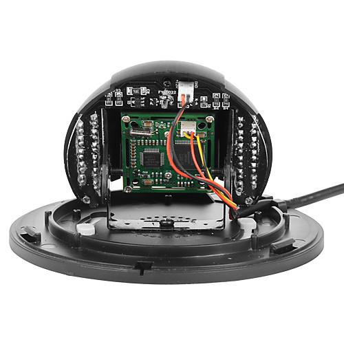 Купол безопасности камера с 1/4 дюйма Sharp CCD цвета (ночного видения) Lightinthebox 1073.000