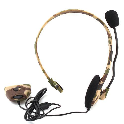 наушников микрофон гарнитуры для Xbox 360 Live (камуфляж) Lightinthebox