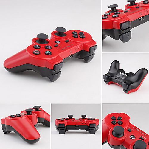 Беспроводной двухтоновый геймпад GOiGAME DualShock 3 для PS3 (красно-черный) Lightinthebox 440.000