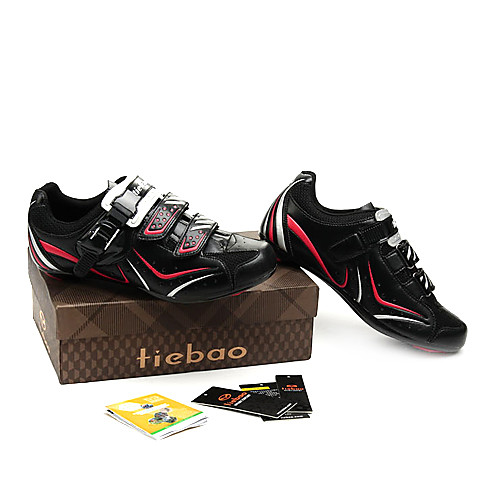 Велоспорт путь СПД обувь с подошвой и стекловолокна PU кожаный верх может совместимости СПД, смотрите, SPD-г, SPD-SL Lightinthebox 2577.000