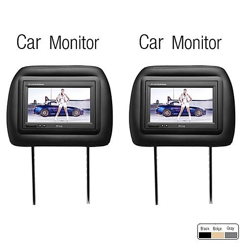 7-дюймовый монитор подголовник автомобиля, 1 пара Lightinthebox 4726.000