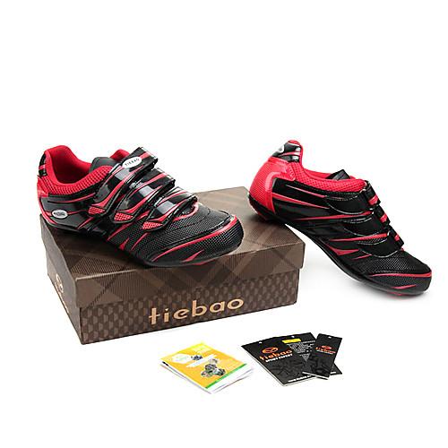 Спортивная обувь для велоспорта с подошвой из стекловолокна и кожаным верхом Lightinthebox 2148.000