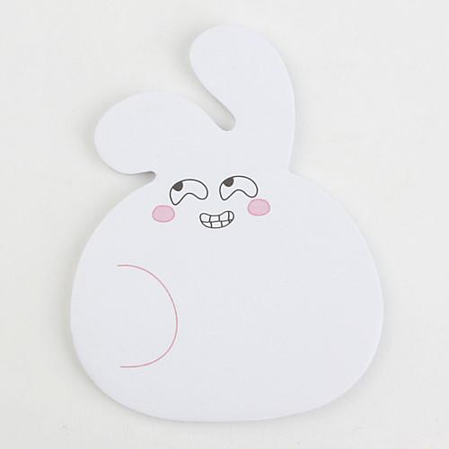 милый кролик формы самоклеющихся липкие блокноты Lightinthebox 42.000