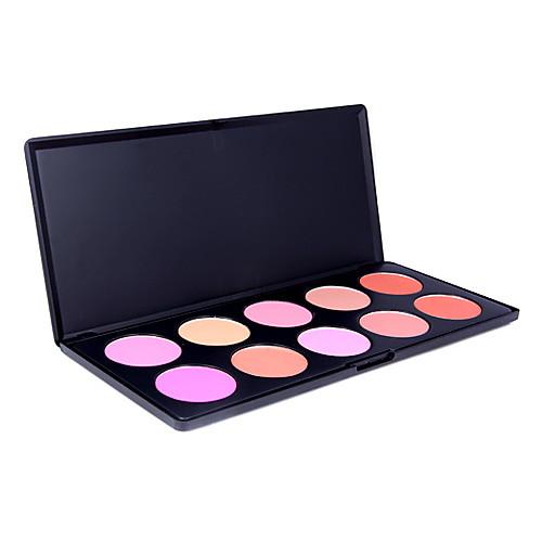 10 цветов палитры профессиональных краснеть (yy015) Lightinthebox 637.000