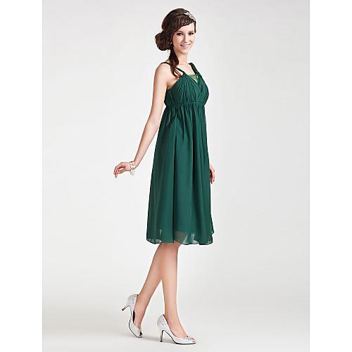 BARBRA - Платье для свидетельницы из шифона и тюлевой ткани Lightinthebox 3854.000
