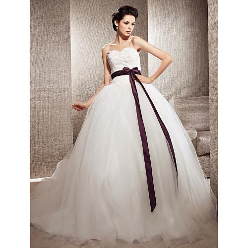 Тюлевое свадебное платье со шлейфом (вдохновлено Кейт Хадсон в