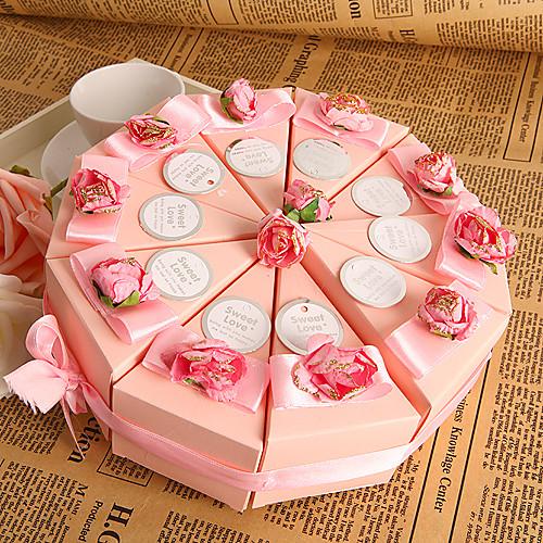 Коробочка в форме торта