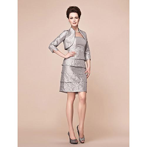 JULIETTE - Платье для дам из тафты с накидкой
