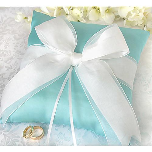 кольцо подушка в атласном с луком и горный хрусталь (больше цветов) Lightinthebox 523.000