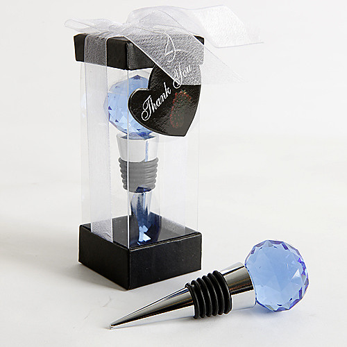 синий хрустальный шар вина пробка Lightinthebox 128.000