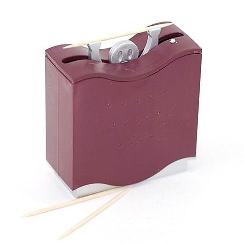смешные тяжелой атлетике человека дизайном зубочисткой держатель автоматический диспенсер (случайный цвет) Lightinthebox 278.000