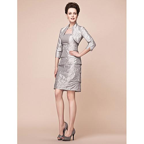 JULIETTE - Платье для дам из тафты с накидкой Lightinthebox