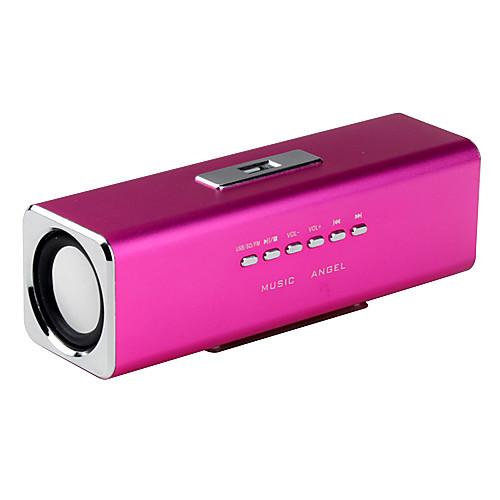 USB Dock музыка ангел спикер JH-MAUK2 портативный мини Поддержка FM, MicroSDHC TF карта, USB Flash Drive (разных цветов)