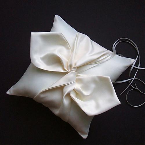 атласные подушки кольцо с элегантным узлом лука Lightinthebox 479.000