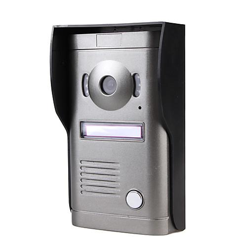 трех 7 дюймовый цветной монитор видеодомофона с телефонной системой сплава непогоды камеры крышки Lightinthebox 8593.000