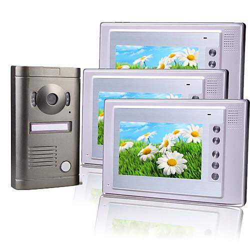 три 7-дюймовый цветной TFT ЖК-домофон с камерой сплава непогоды Lightinthebox 11172.000