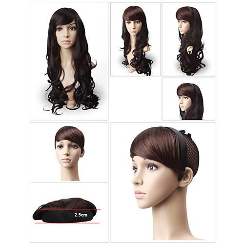 оголовья типа синтетических волос сторону взрыва 3 варианта цвета Lightinthebox 343.000