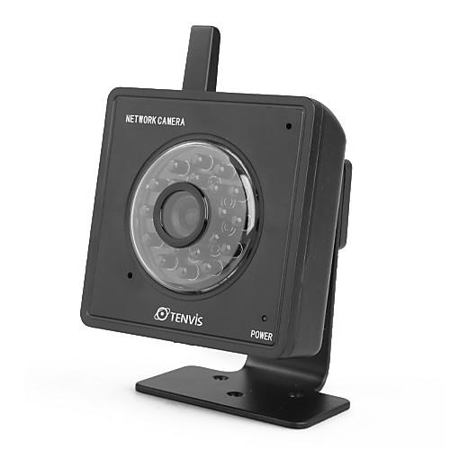 TENVIS - беспроводная мини камера наблюдения для iPhone / Android / Blackberry (черная) Lightinthebox 1718.000