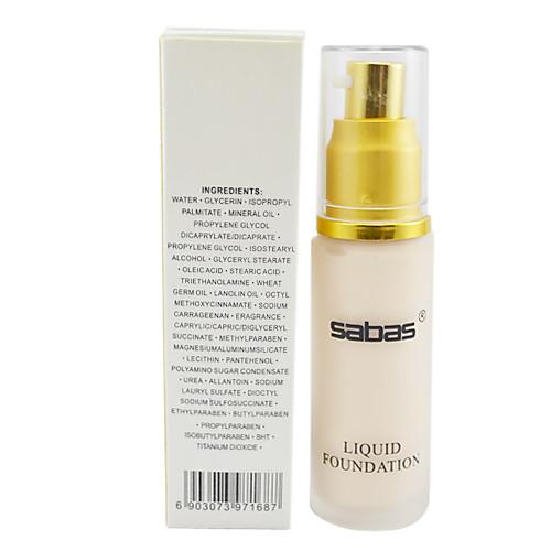 Жидкий тональный крем/основа SABAS (4 цвета на выбор) Lightinthebox 214.000