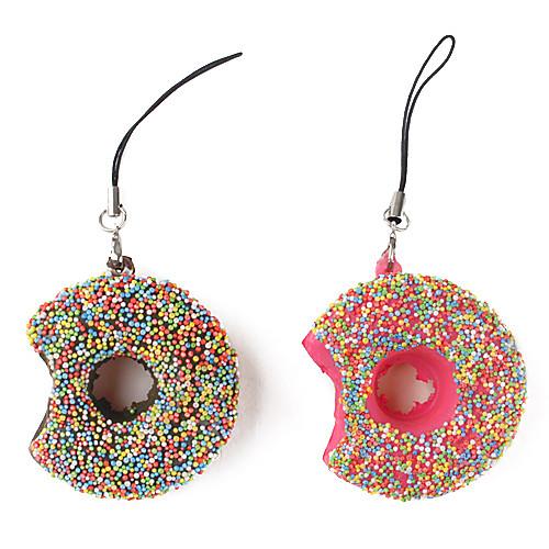 душистый мягкий пончик форме брелка (разных цветов) Lightinthebox 85.000