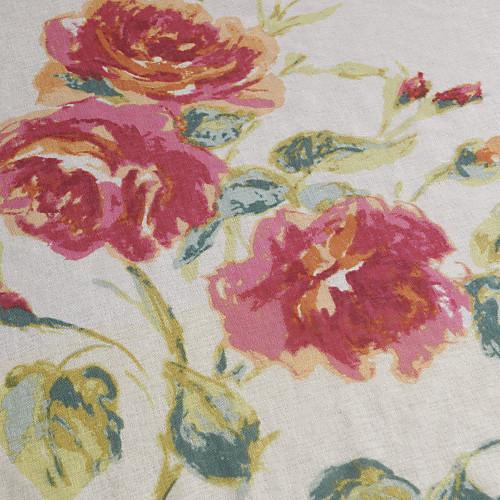 (Две панели) красные цветы страна чистый занавес Lightinthebox 3866.000