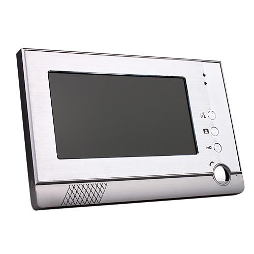 четыре 7 дюймовый цветной монитор видеодомофона с телефонной системой сплава непогоды камеры крышкой Lightinthebox 13750.000