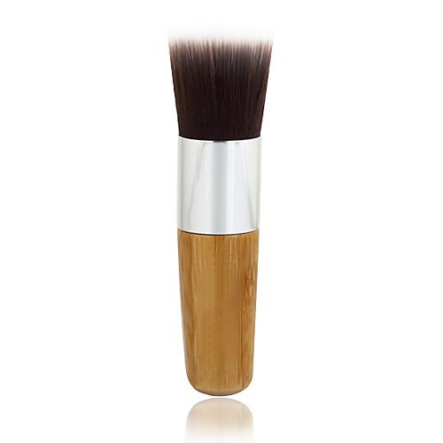 1шт изысканный натуральный бамбук ручка фундамент кисть для пудра / основа под макияж грунтовки / основания Lightinthebox 343.000