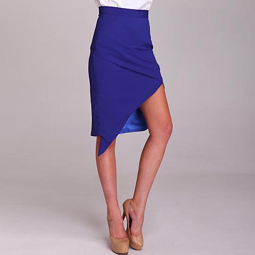 ц асимметричным разрезом юбка-карандаш Lightinthebox 837.000