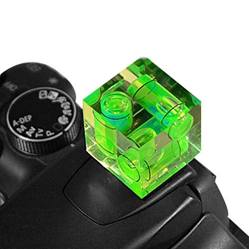 тройной оси горячий башмак спиртовой уровень градиометр для камеры DSLR Lightinthebox 128.000