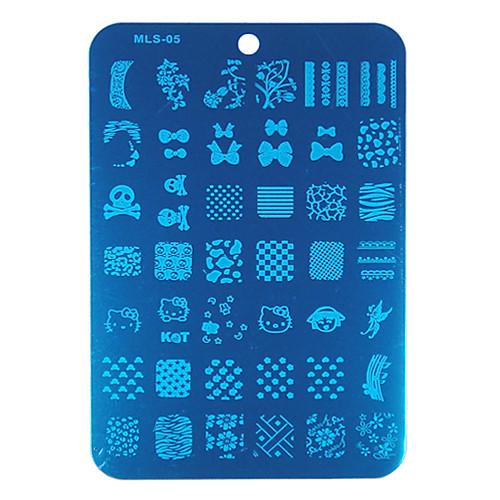 Печатные заготовки для нейл-арта Lightinthebox 257.000