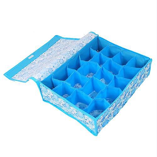 20 сетей синий цветок мягкий контейнер для хранения крышки Lightinthebox 192.000