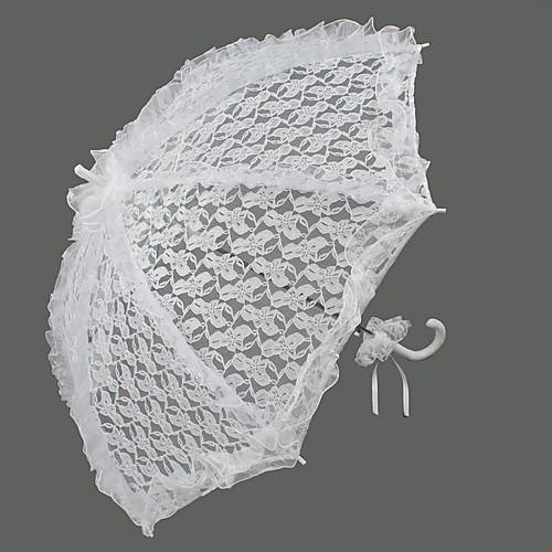 белый зонтик свадьбы кружева Lightinthebox 583.000