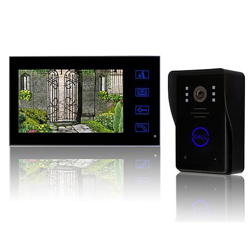 7-дюймовый TFT LCD видеодомофон с ключевыми сенсорный (1 камера с 1 монитор) Lightinthebox 4726.000