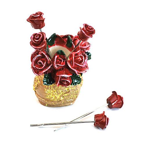 Роза стиле вилки фруктовых закусок берет с держателем Lightinthebox 386.000