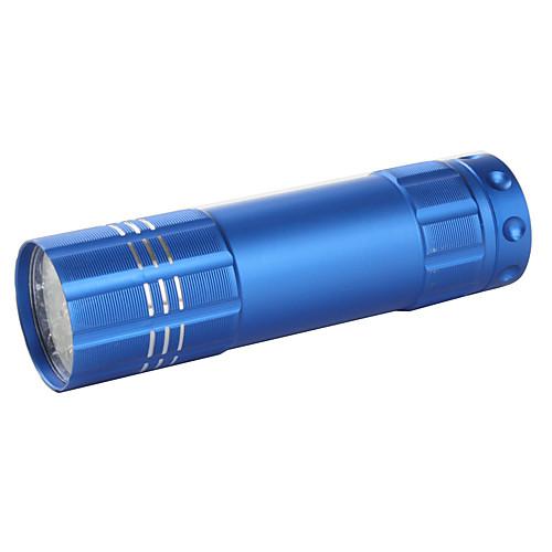модные 9-Светодиодный фонарик с ручной ремешок (разных цветов) Lightinthebox 128.000