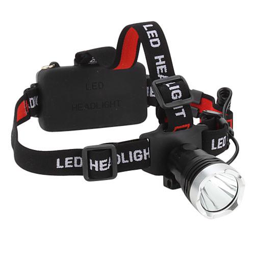 Фонарь 3-режимный налобный с Cree XM-L T6 LED (1200 лм, 1x18650/3xAAA) Lightinthebox