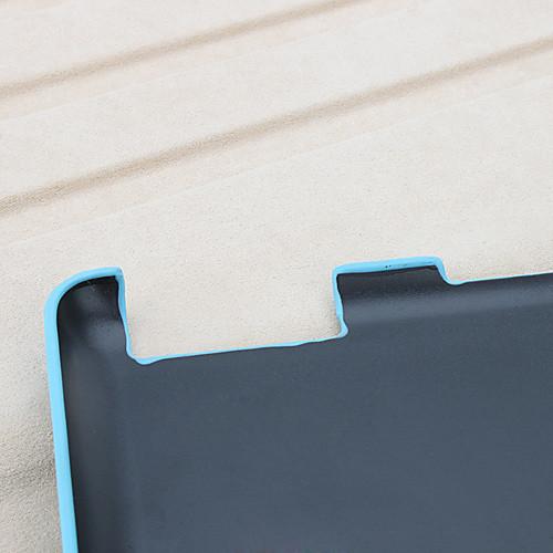 Клетчатый чехол-бумажник из кожзама с подставкой для the New iPad и iPad 2 (голубой) Lightinthebox 687.000